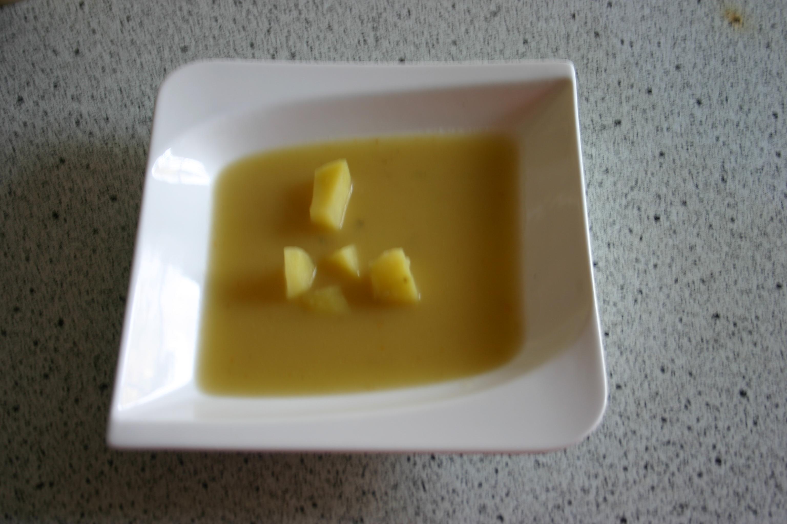 Kartoffelsuppe, schnell