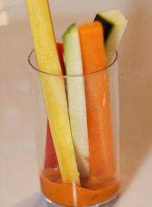 Für Kinder verwenden wir natürlich die Gemüsesorten, die die Kinder gerne essen!