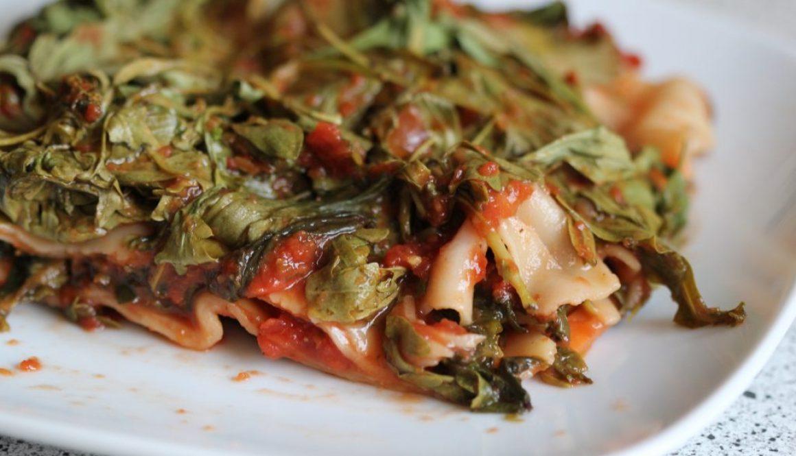 Rucola - Spinat Lasagne