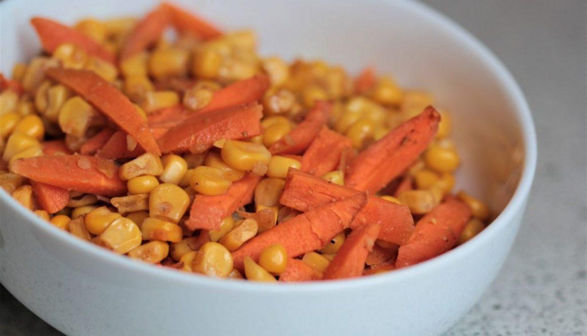 Karotte - Mais Ofengemüse