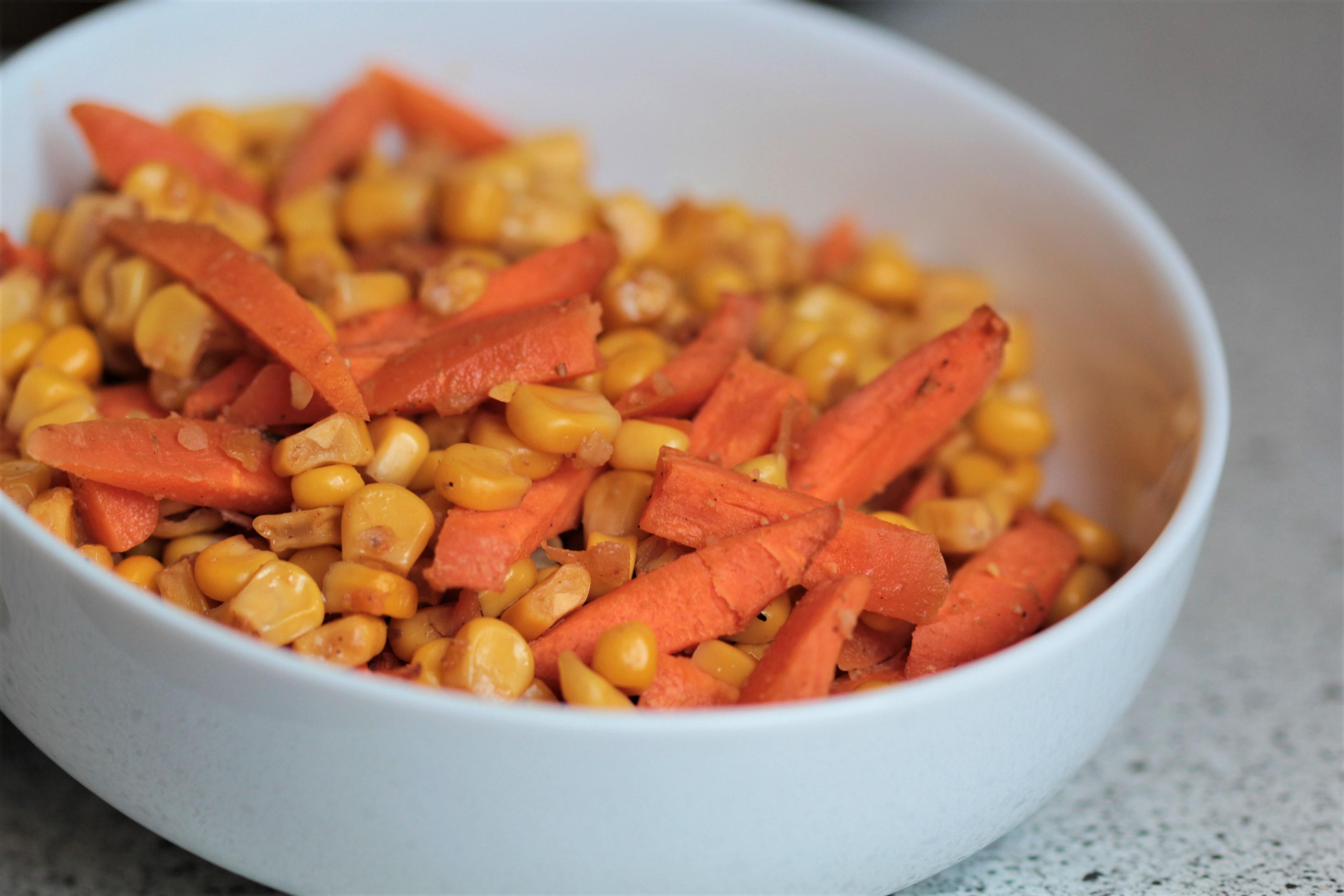 Karotten Mais Ofengemüse Einfache Rezepte Für Glückliche Gäste