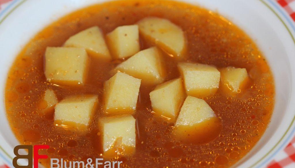 Klare Kartoffelsuppe 9829