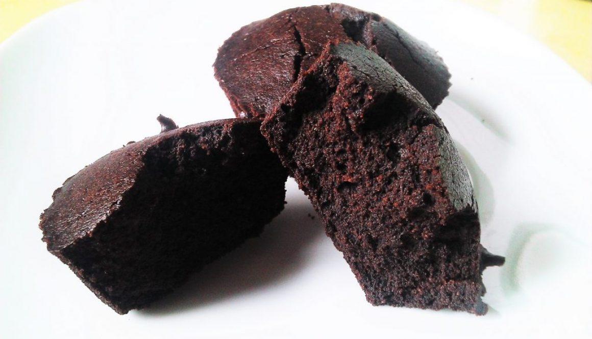 Fudgy Brownie Muffins