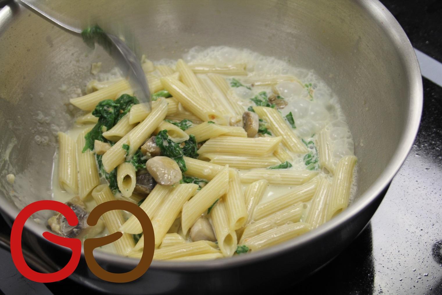 sahnesoßen für pasta
