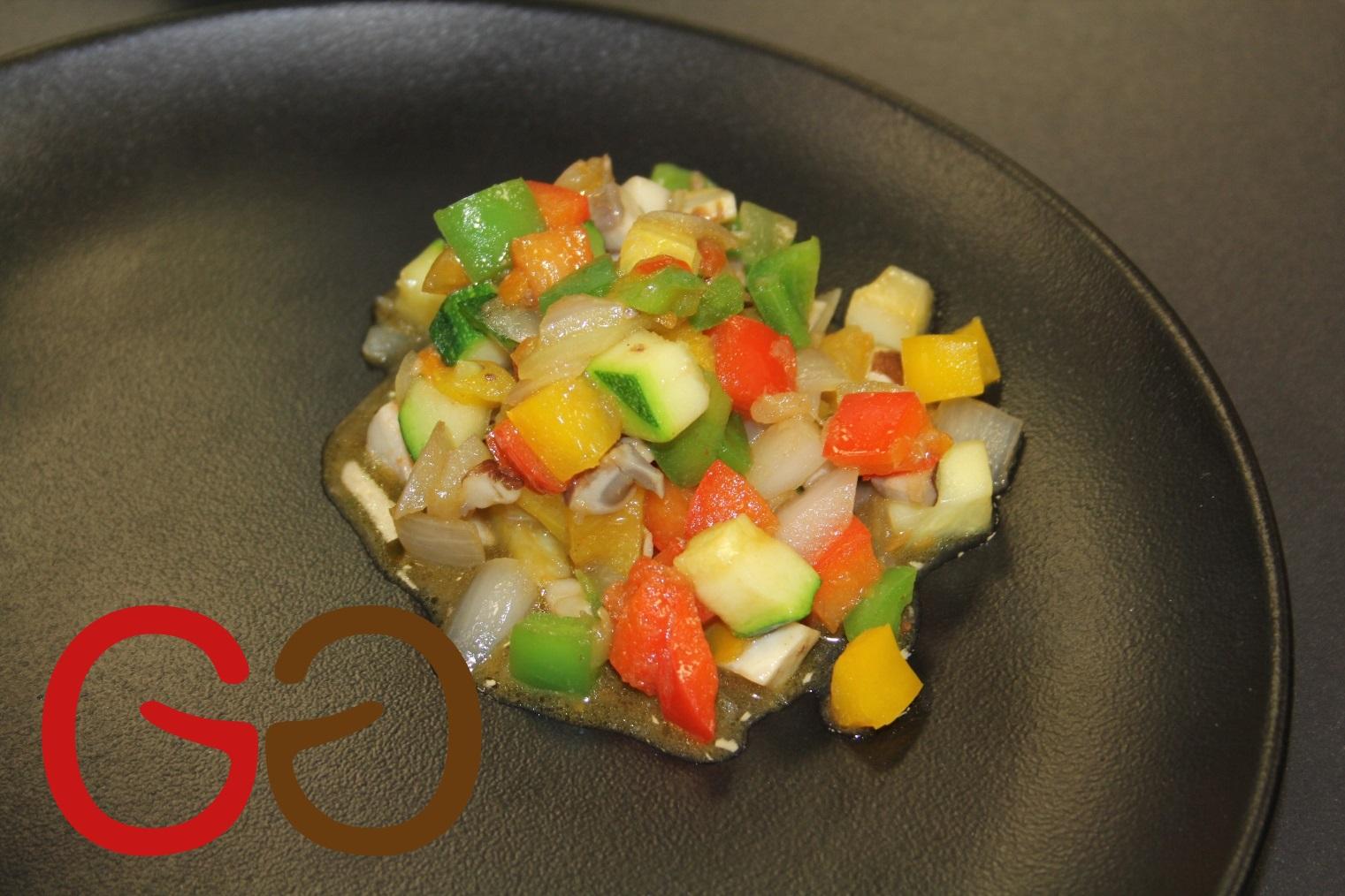 Gedämpftes Gemüse 100 Portionen