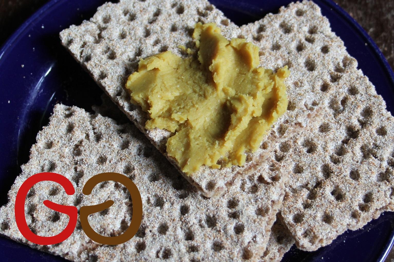 Indischer Curry-Brotaufstrich