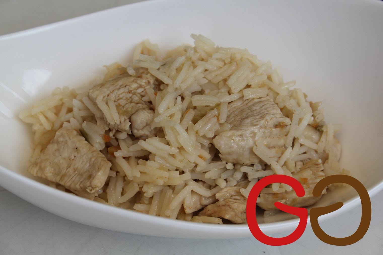 "Hühnchen-Paella ""light"""